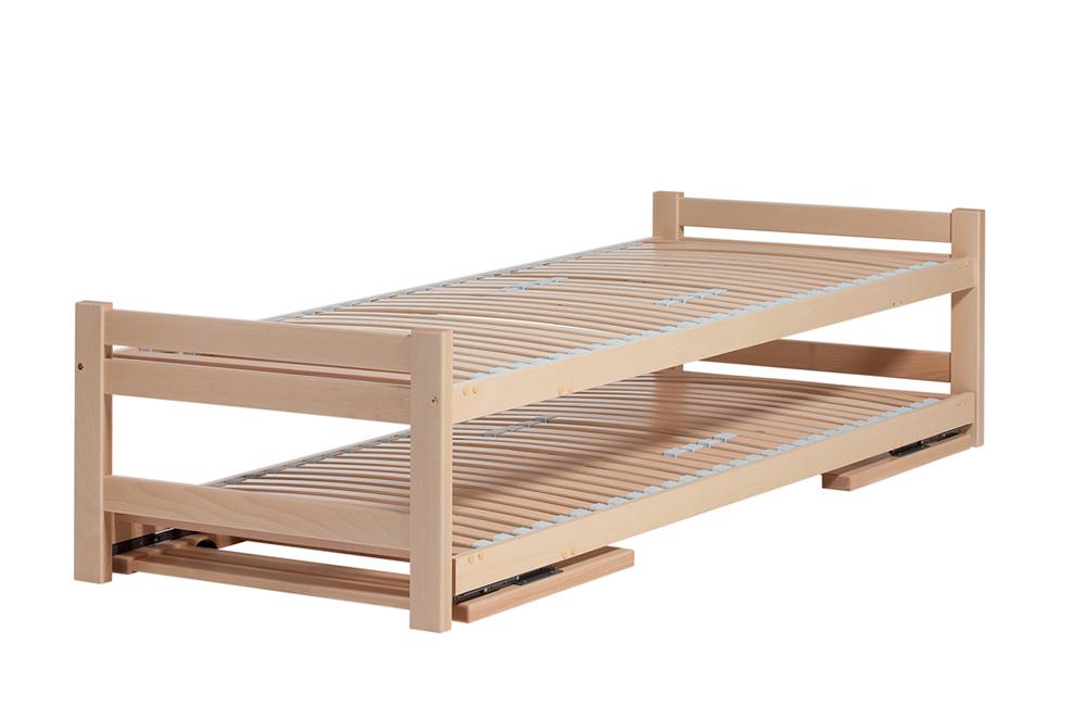 slaapboetiek products bedden bed+onderschuifbedTWIN
